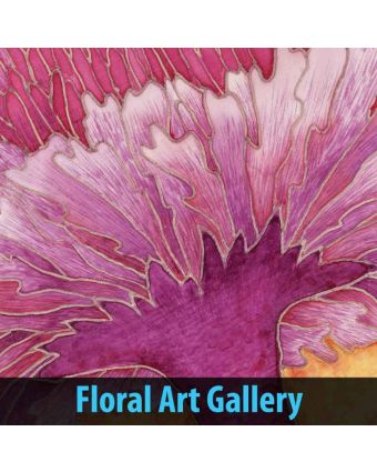 Floral Art Gallery of Cafeteria Decoration