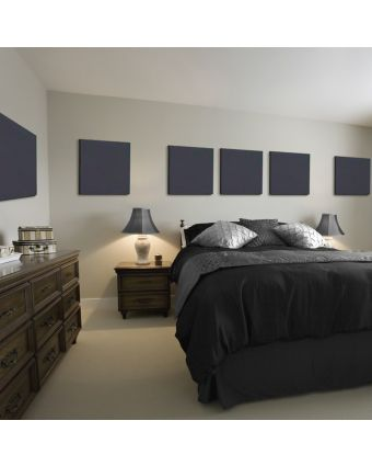Standard Room Treatment with Noise Reduction Panels