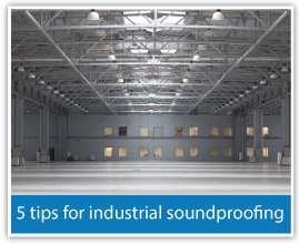 Industrial soundproofing