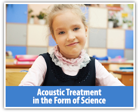 Custom acoustic treatments