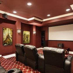 Acoustic Art Panels for Movie Theater
