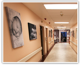 Acoustic panels in hospitals