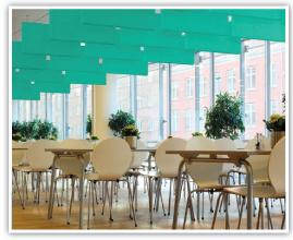 café and cafeteria acoustics