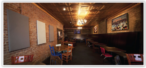 Deagan's Kitchen & Bar restaurant soundproofing