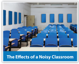 Noisy classroom sound solutions