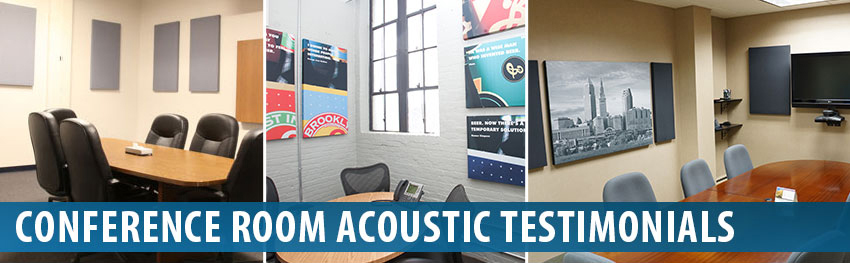 Audimute Conference Room Acoustic Panels