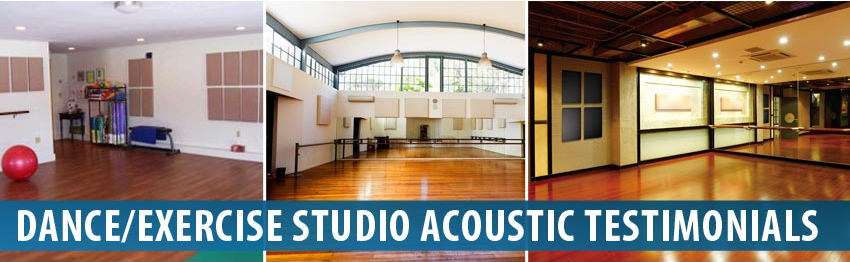Audimute Dance & Exercise Studio Acoustic Panels