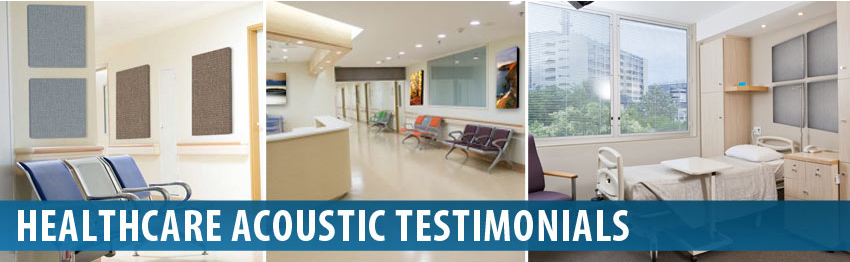 Audimute Healthcare Facilities Acoustic Panels