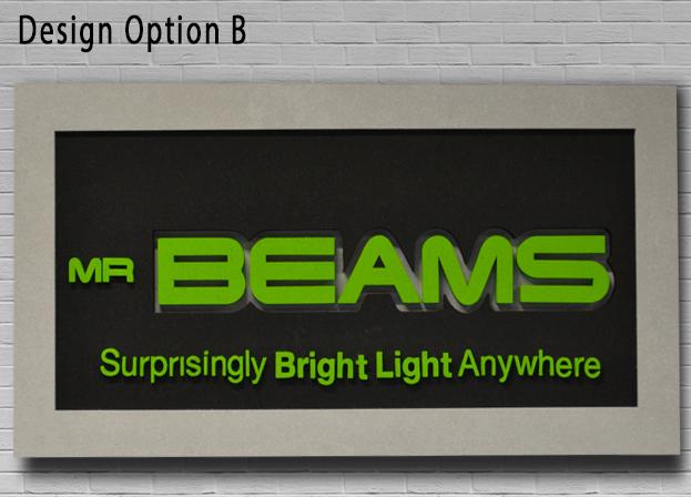 Acoustic Designer Sign Option B 2