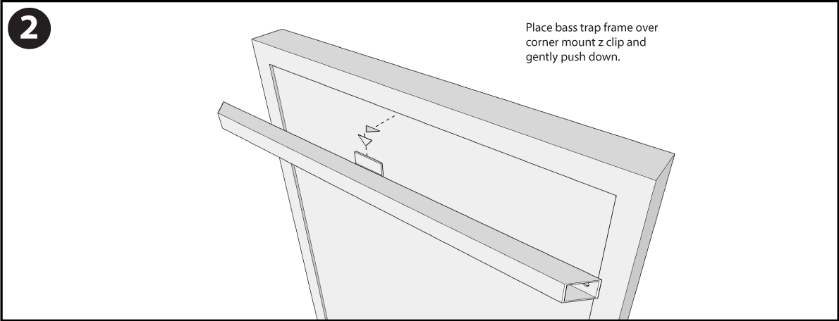 Bass Trap Corner Mount 2