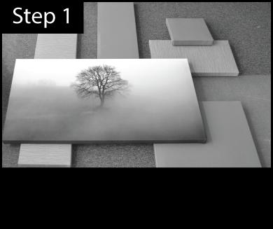 Offset Arrangement Installation Step 1