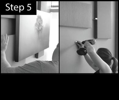 Offset Arrangement Installation Step 5