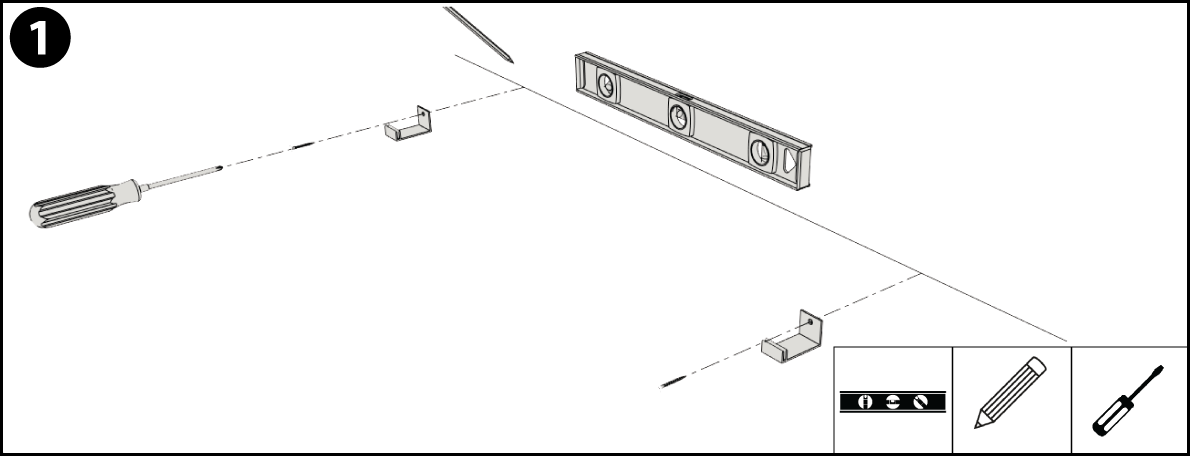 Offset Installation Step 1