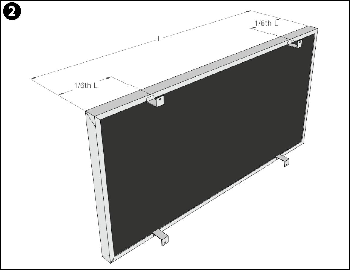 Offset Installation Step 2