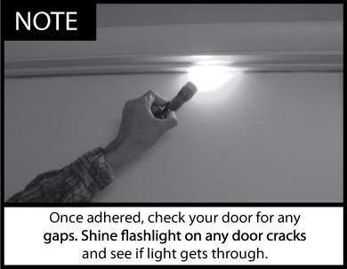 Acoustic Door Seal Installation Note 1