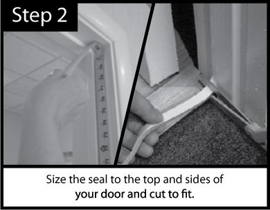 Acoustic Door Seal Installation Step 2
