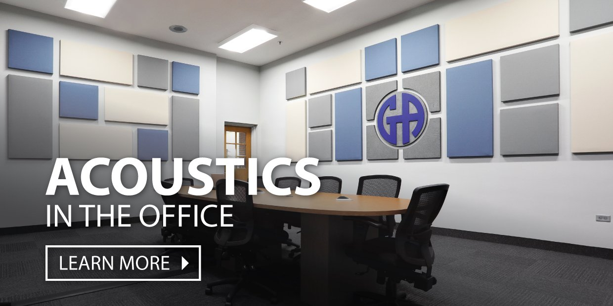 Acoustics in the Office by Audimute