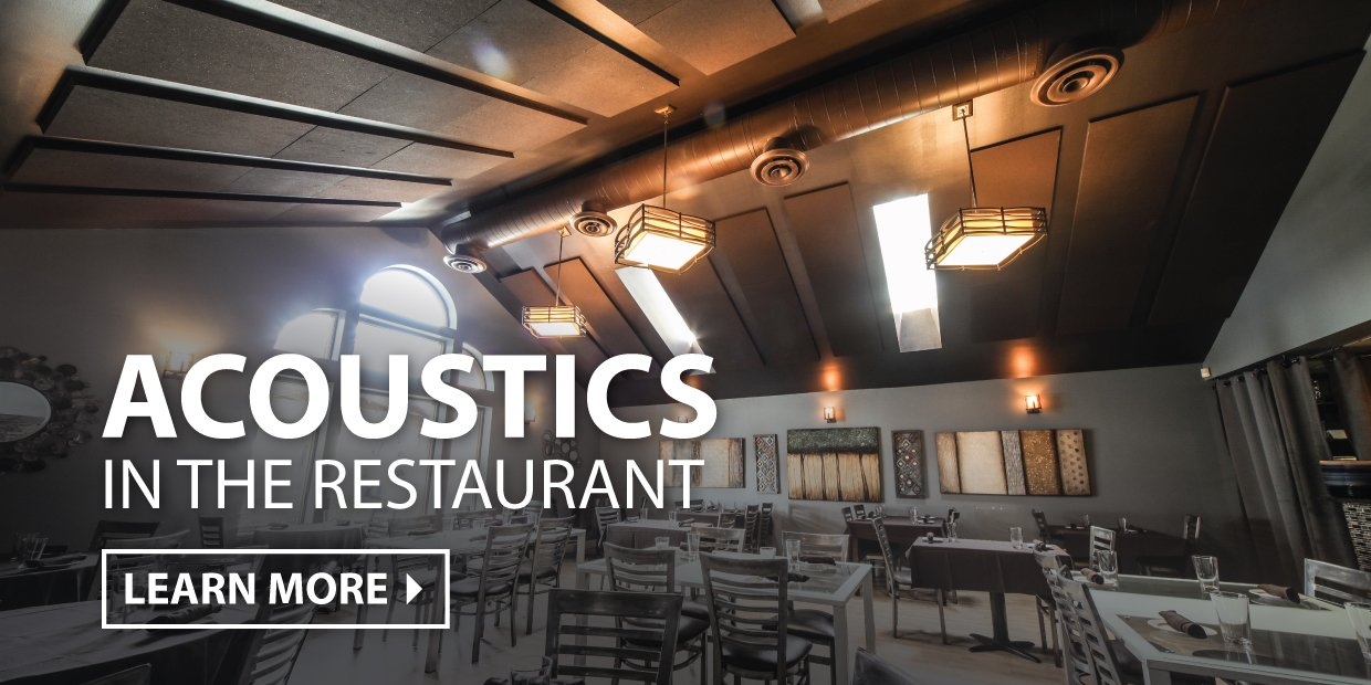 Acoustics in Restaurants by Audimute