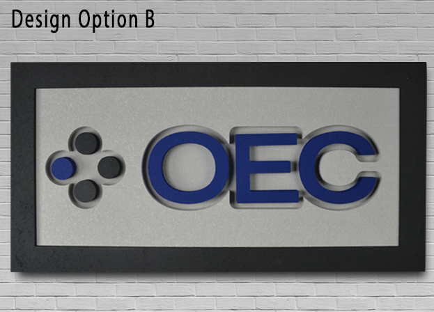 Acoustic Designer Sign Option B 1