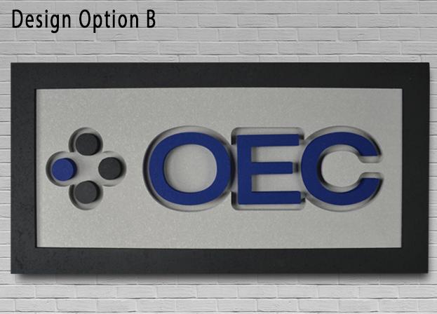 Acoustic Designer Sign Option B 1