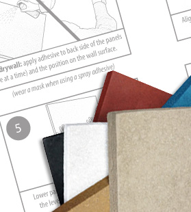 acoustic panels installation instructions