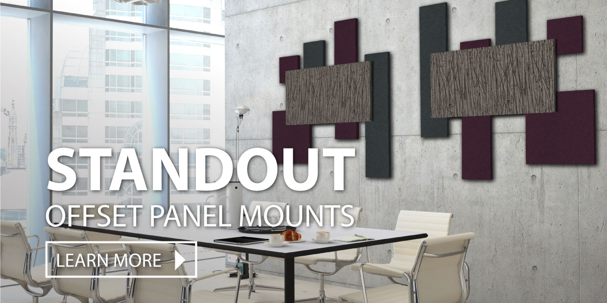 Audimute Offset Acoustic Panel Mounts