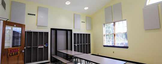 Goddard School Sound Absorption
