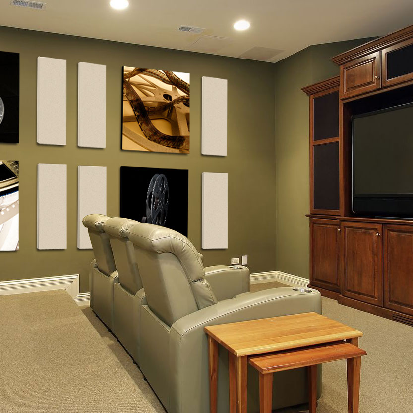 Acoustic Panels in Home Theaters