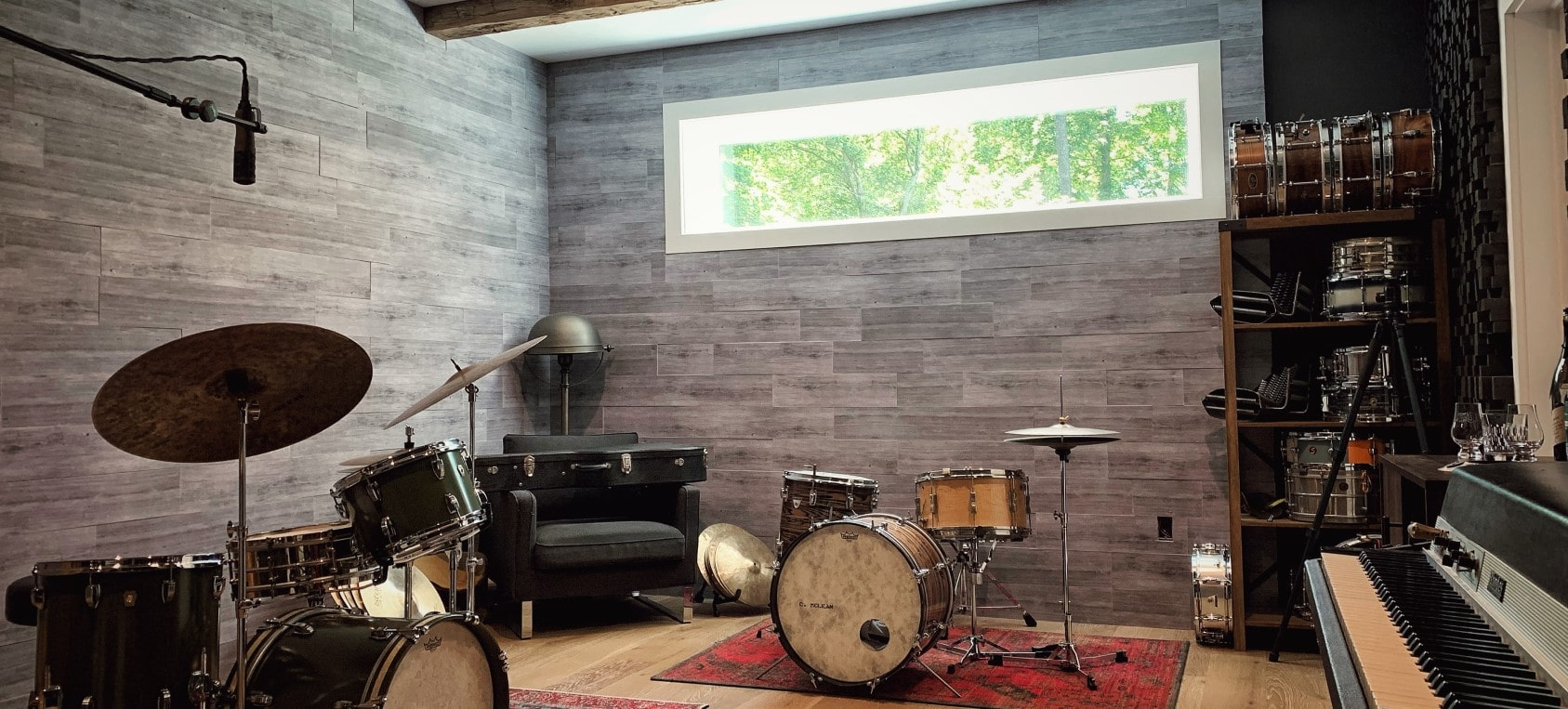 Acoustic Solutions for Rehearsal & Studio Spaces