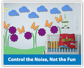 Daycare noise solutions