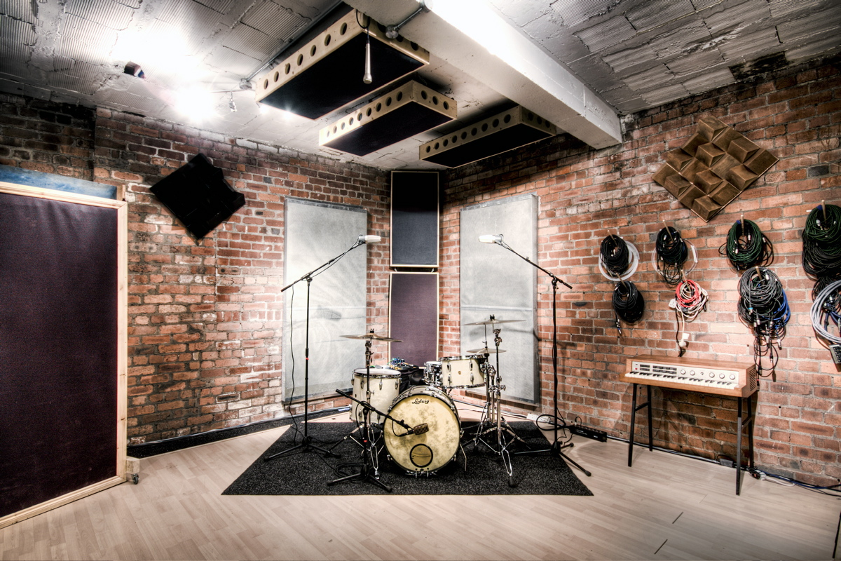 Drum kit location